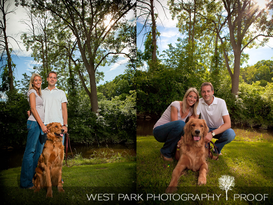 breedlove1 Engagement Session:  Heather & Chris in Northville, MI
