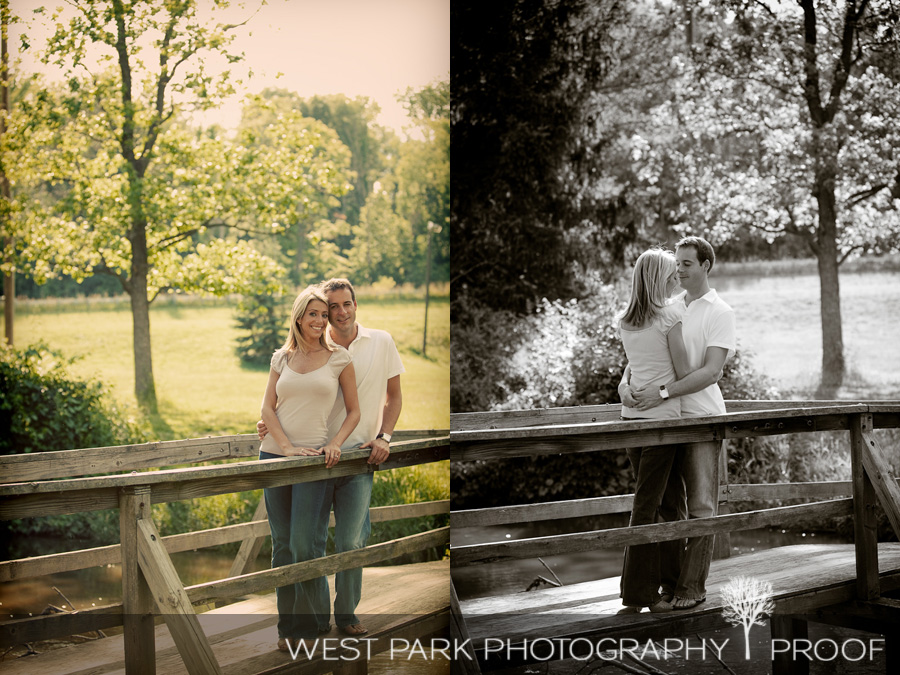breedlove2 Engagement Session:  Heather & Chris in Northville, MI
