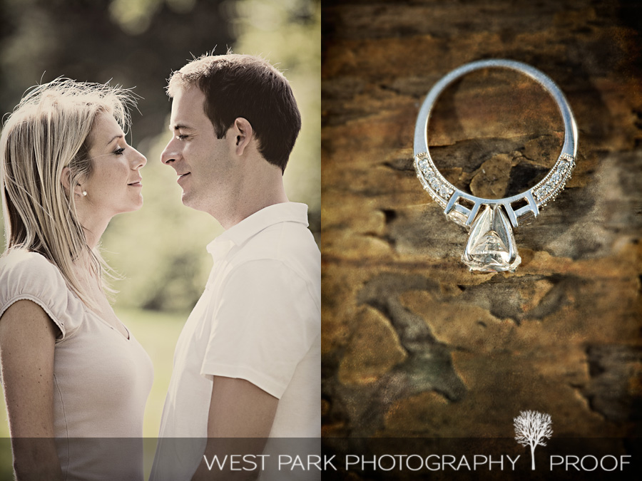 breedlove3 Engagement Session:  Heather & Chris in Northville, MI