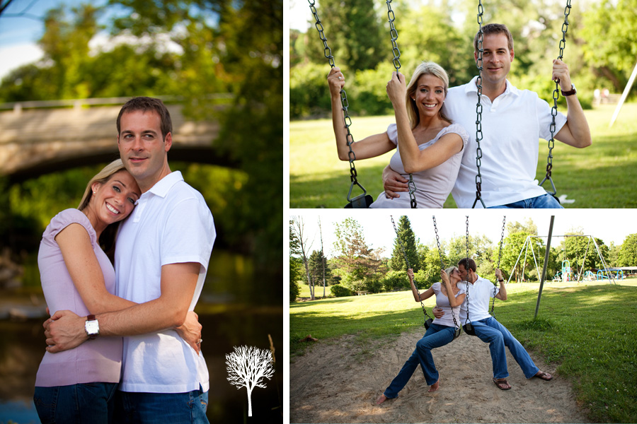 breedlove5 Engagement Session:  Heather & Chris in Northville, MI